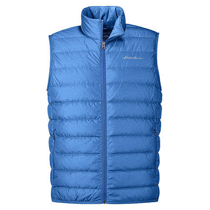 Мужская жилетка дутая Eddie Bauer Men CirrusLite Down Vest IMPERIAL BLUE, фото 2