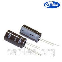 10mkf - 400v RD 10*20 SAMWHA 105°C