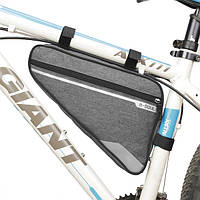 Велосипедная сумка-бардачок под раму B-SOUL 2.9L серая