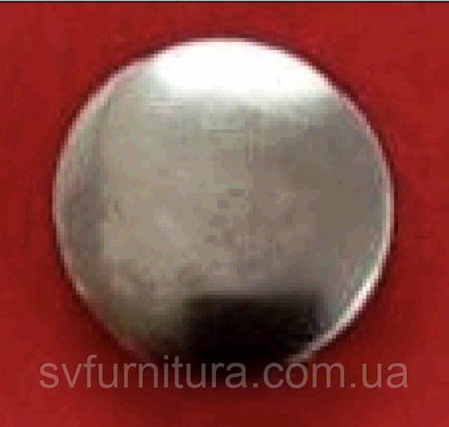 Кнопка 631 нікель 12.5 мм