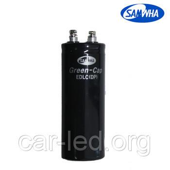 3000 F - 2,7v* (EDLC) Суперконденсатор DP 64*130 SAMWHA