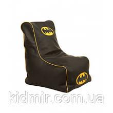 Детское кресло бескаркасное для мальчика Бетмен Tia Sport