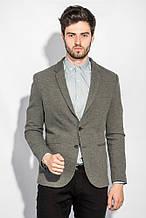 Пиджак мужской однотонный AG-0005709 Серый