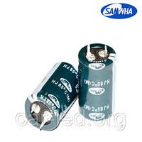 10 000mkf - 80v  mini HJ 35*50  SAMWHA, 85°C