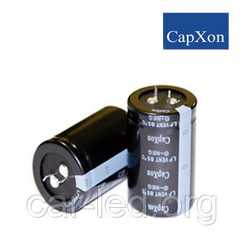 4700mkf - 100v  LP 35*42  CAPXON 85°C