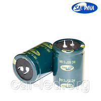 10000mkf - 25v  HC 22*40  SAMWHA, 85°C