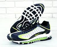 Кроссовки мужские Nike Deluxe реплика ААА+ размер 41-45 черный (живые фото)