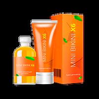 Комплекс для депиляции Крем Mini Bikini X6 , Комплекс для быстрой депиляции Крем, Комплекс для быстрой депиляции Крем Мини бикини, Мини бикини