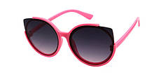 Модные очки от солнца для девочек кошечки Reasic