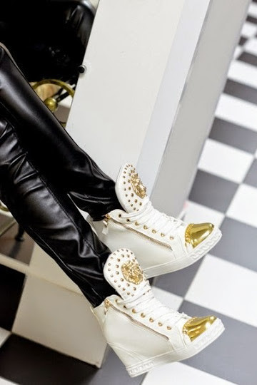 Ботиночки сникерсы белые Лев Д370 р 38