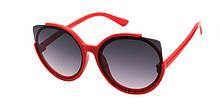 Красивые очки от солнца для девочек кошечки Reasic