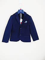 Стильний піджак для хлопчика 6-7 років (116-122 см). Street Gang.