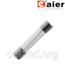 Вставка плавка - скло (6 x 30 mm) 15A
