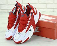Кроссовки мужские Nike ZooM 2K реплика ААА+ размер 41-45 красный (живые фото), фото 1