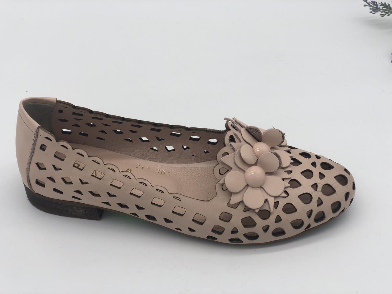 51a792c9e Балетки женские Phany розовый 291-103/06 кожа 37(р), цена 1 380 грн ...
