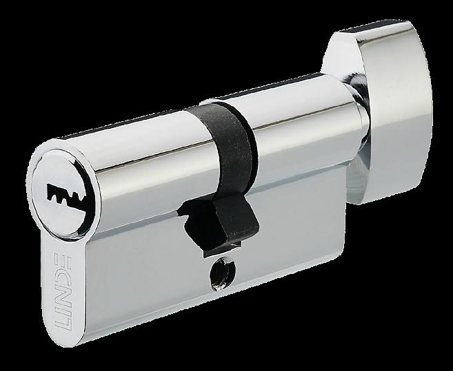 A6P30/30T CP Цилиндр перфорированный ключ/поворотник
