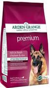 Корм для собак Arden Grange Adult Premium с курицей  12 кг
