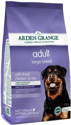 Arden Grange Adult Сухой корм для крупных пород собак с курицей и рисом 12 кг