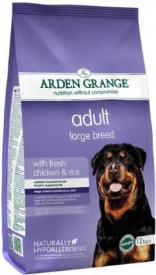 Arden Grange Adult Сухой корм для крупных пород собак с курицей и рисом 12 кг, фото 2