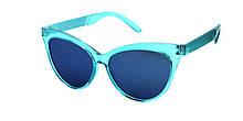 Красивые детские очки от солнца голубые Reasic
