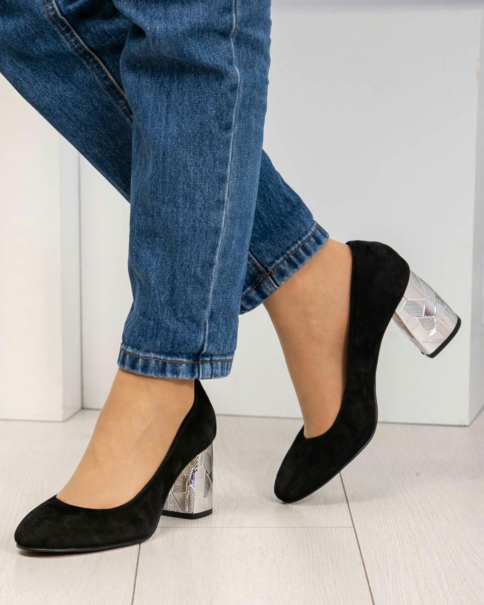 Женские Шикарные черные туфли
