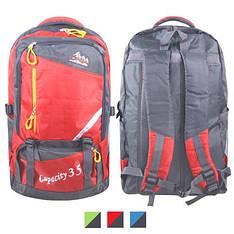 Рюкзак туристичний 52*30*20см, R15920