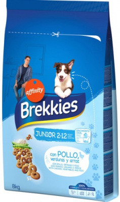 Brekkies (Брекис) Dog Junior Сухой корм для молодых собак 20 кг