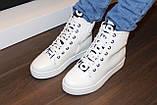 Ботиночки сникерсы белые Love Д428, фото 6