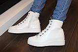 Ботиночки сникерсы белые Love Д428, фото 7