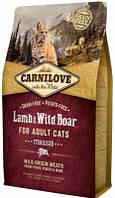 Carnilove (Карнилав) Сухой корм  для стерилизованных кошек Sterilised с ягненком 2 кг