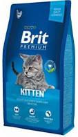 Корм Brit Premium (Брит Премиум) Cat Kitten для котят и беременных кошек 8 кг