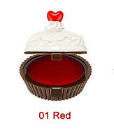 Бальзам-капкейк для губ HOLIKA HOLIKA Dessert Time Lip Balm тон 01 Red