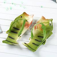 Вьетнамки рыбы тапки в виде окуня Код 10-0919