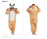Бэмби пижама Кигуруми — костюм-комбинезон Олененок Бэмби