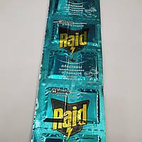 Таблетки пластины от комаров Raid Рейд (Эвкалипт), фото 1