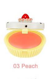 УЦЕНКА!!! Бальзам-капкейк для губ HOLIKA HOLIKA Dessert Time Lip Balm тон 03 Peach