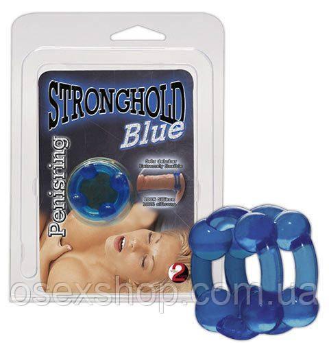 Эрекционное кольцо - Stronghold Blue