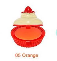 Бальзам-капкейк для губ HOLIKA HOLIKA Dessert Time Lip Balm тон 05 Orange