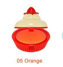 УЦЕНКА!!! Бальзам-капкейк для губ HOLIKA HOLIKA Dessert Time Lip Balm тон 05 Orange