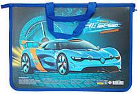 Портфель пластиковый на молнии CFS Racing A4