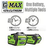 Аккумуляторный кусторез (триммер) Greenworks G40HT61 ( 22332 ) ( Кущоріз акумуляторний Greenworks  ), фото 5