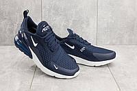 Кроссовки А 358-3 (Nike AirMax 270) (весна/осень, мужские, текстиль, синий)