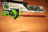 Аккумуляторный кусторез (триммер) Greenworks G40HT61 ( 22332 ) ( Кущоріз акумуляторний Greenworks  ), фото 2
