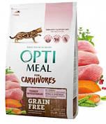 OptimeaL для выведения комочков шерсти у кошек Hairball Turkey 0,65 кг
