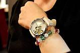 Наручные часы женские с белым ремешком код 181, фото 2