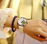 Наручные часы женские с белым ремешком код 181, фото 3