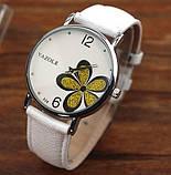 Наручные часы женские с белым ремешком код 181, фото 4