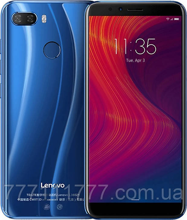 Телефон Lenovo K5 Play L38011 blue 3/32 гб