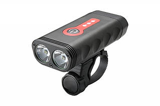 Фонарь пер. BC-FL1580 2 светодиода 600лм питание Li-on 4400mAh USB Al + Pl