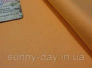 Фетр мягкий, цвет - персиковый